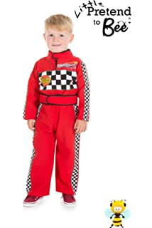Italian Made Deluxe Baby Toddler Boys Girls Red Racing Driver Car
