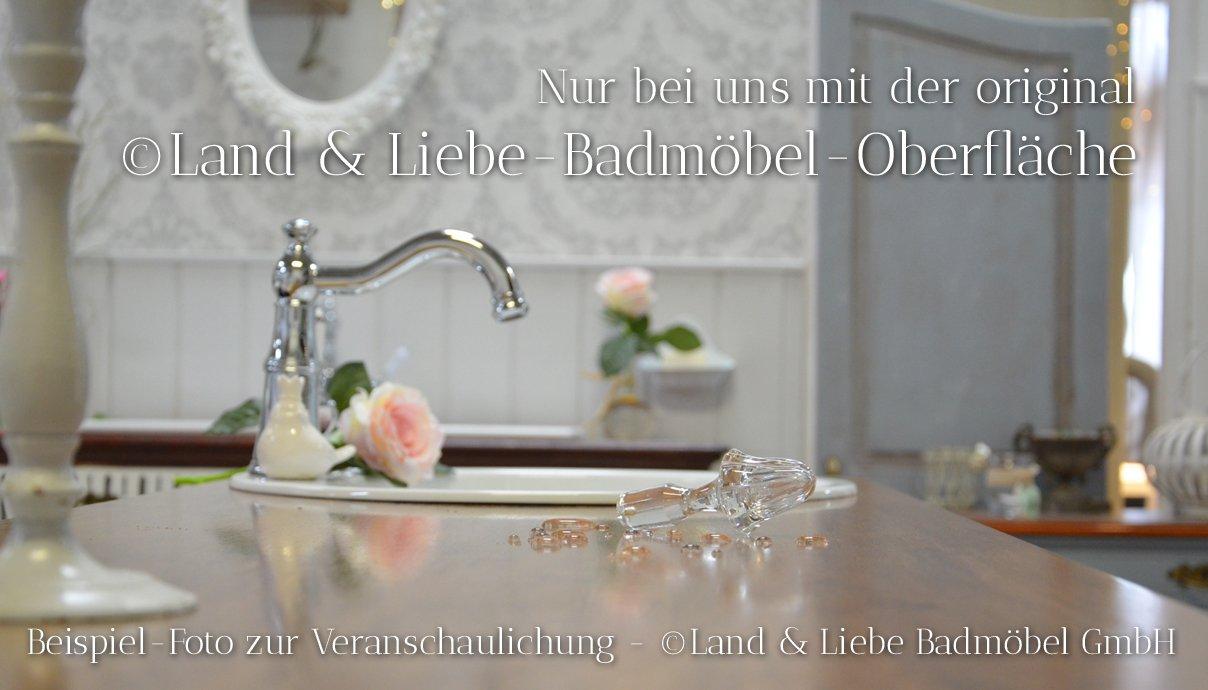 País & Amor de Muebles de baño GmbH carmila: rústico de Lavabo, Vintage, nostálgico: Amazon.es: Hogar