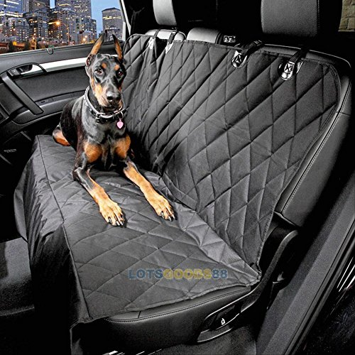 Waterproof Pet Cat Dog Back Car Seat Cover Hammock Protector Mat Blanket Black # (2006 Classic Car Mats)