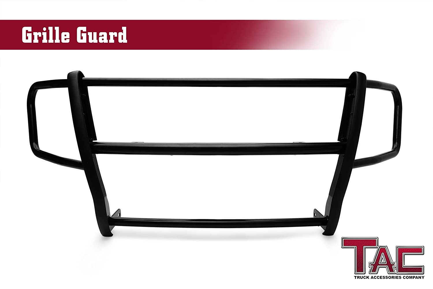TAC Grille Guard for 2012-2018 Nissan NV 1500/2500 / 3500 Van (interfere with the front sensors) Black Front Brush Bumper Guard Grille Guard Push Guard Bull Bar Truck Pickup