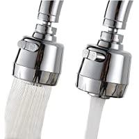 Kitchen Sink Aerators,360° Rotatable Kitchen Faucet Sprayer Head Replacement Faucet Head Attachment Anti-Splash Faucet…