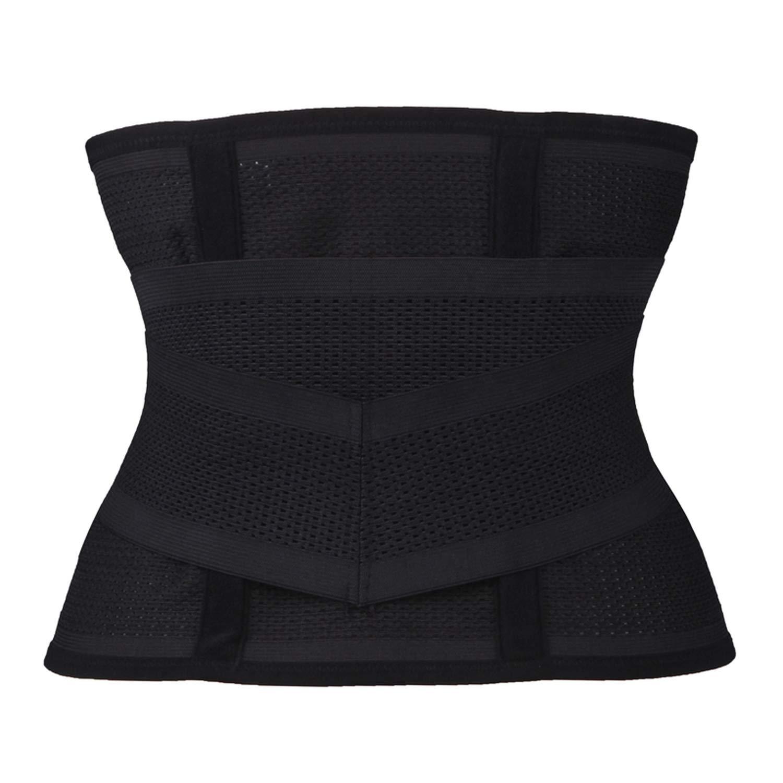 Women Waist Trainer Belt Belly Band Belts Hot Body Shaper After Birth Slim Belt Corset,Black,S