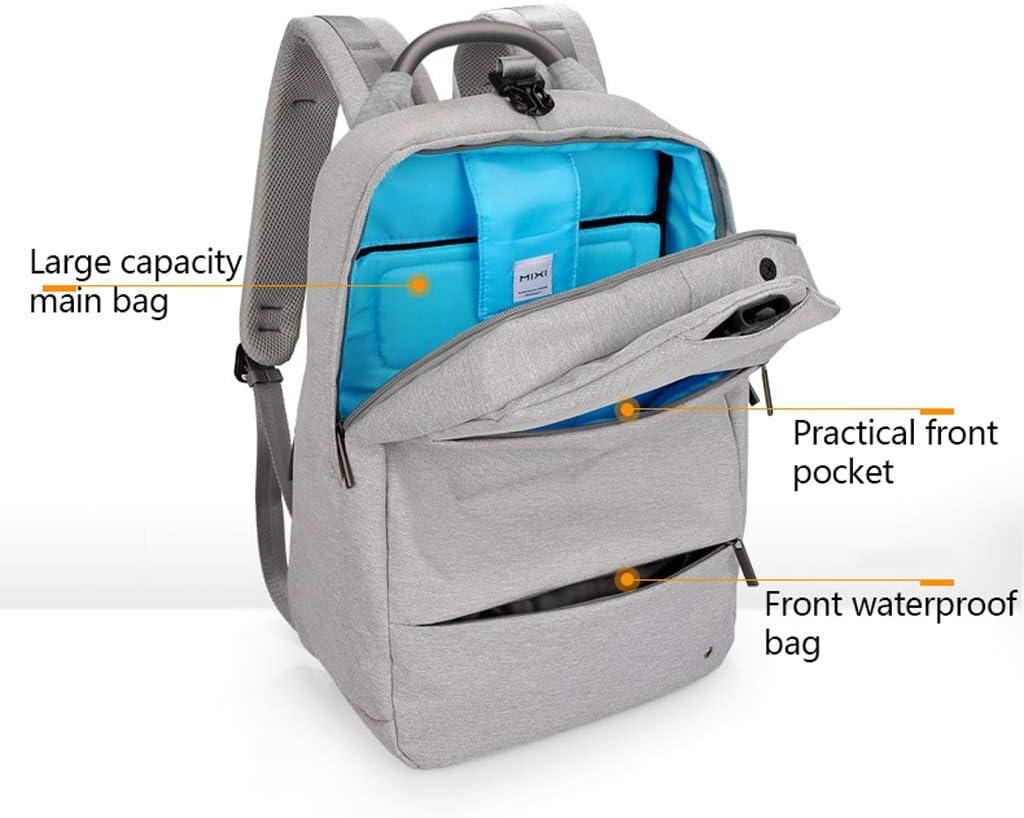 Backpacks Color : Black, Size : 18 inches Anti-Theft Backpack Shoulder Bag Mens Business Computer Bag Travel Bag College Student Bag Female Backpack