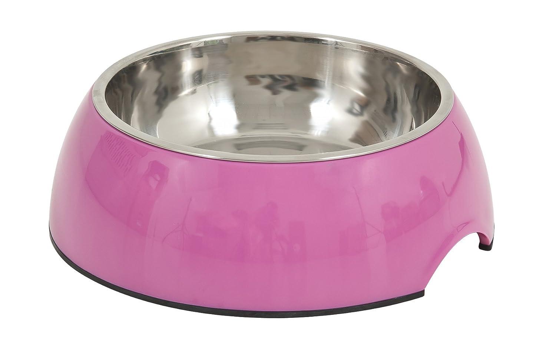 amazon com petmate 14 5 oz italia bowl medium black pet supplies