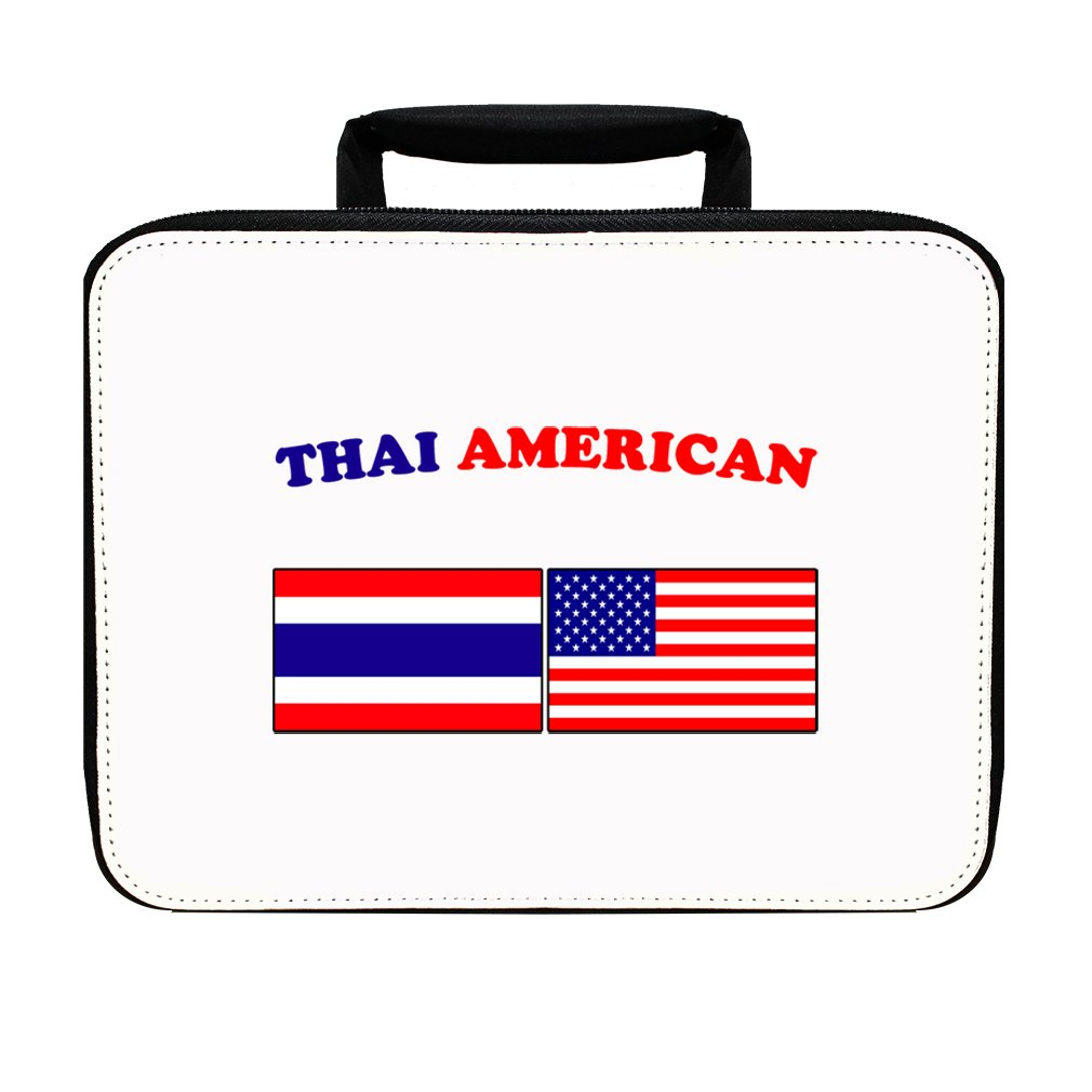 Thai American Insulated Lunch Box Bag