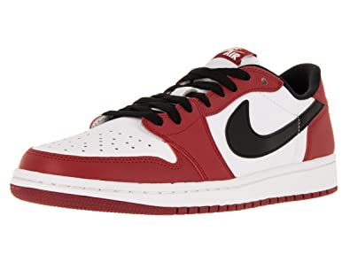 03a784630f4b Nike Jordan Men s Air Jordan 1 Retro Low Og Varsity Red Black White  Basketball