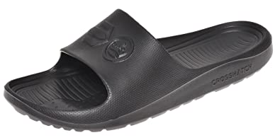 Crosshatch Mens Slider Mule Slip-on Summer Beach Pool Sandal