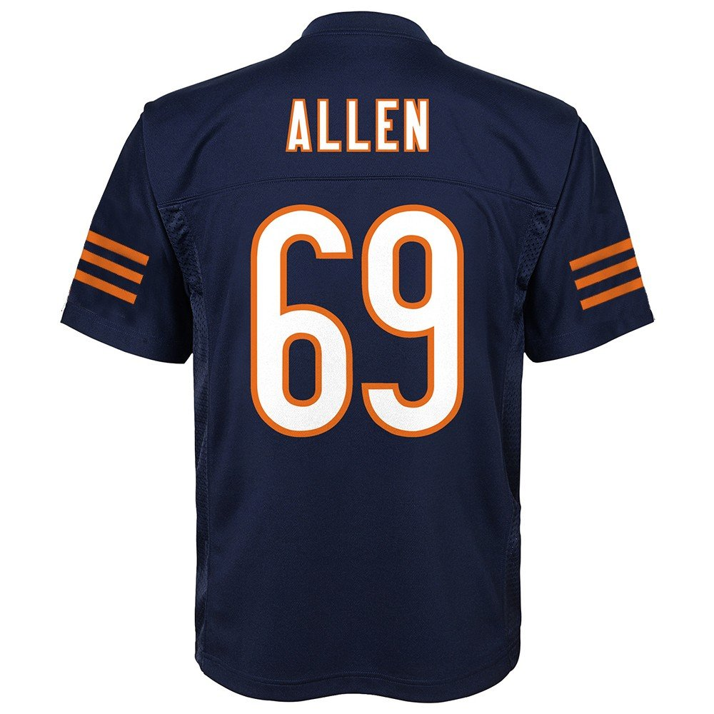 Outerstuff Jared Allen NFL Chicago Bears Mid Tierホーム海軍Player Jersey Youth (S - XL) XL/18-20  B07BYV6Z4H