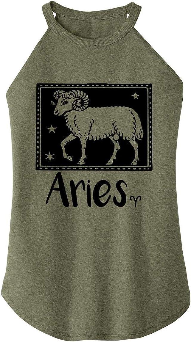Comical Shirt Ladies Horoscope Aries Tee Rocker