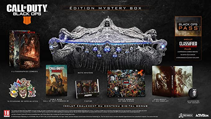 Call of Duty : Black Ops 4 - Edition Mystery Box [Importación ...