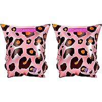 Swim Essentials Zwembandjes Roze Panterprint 0-2 jaar
