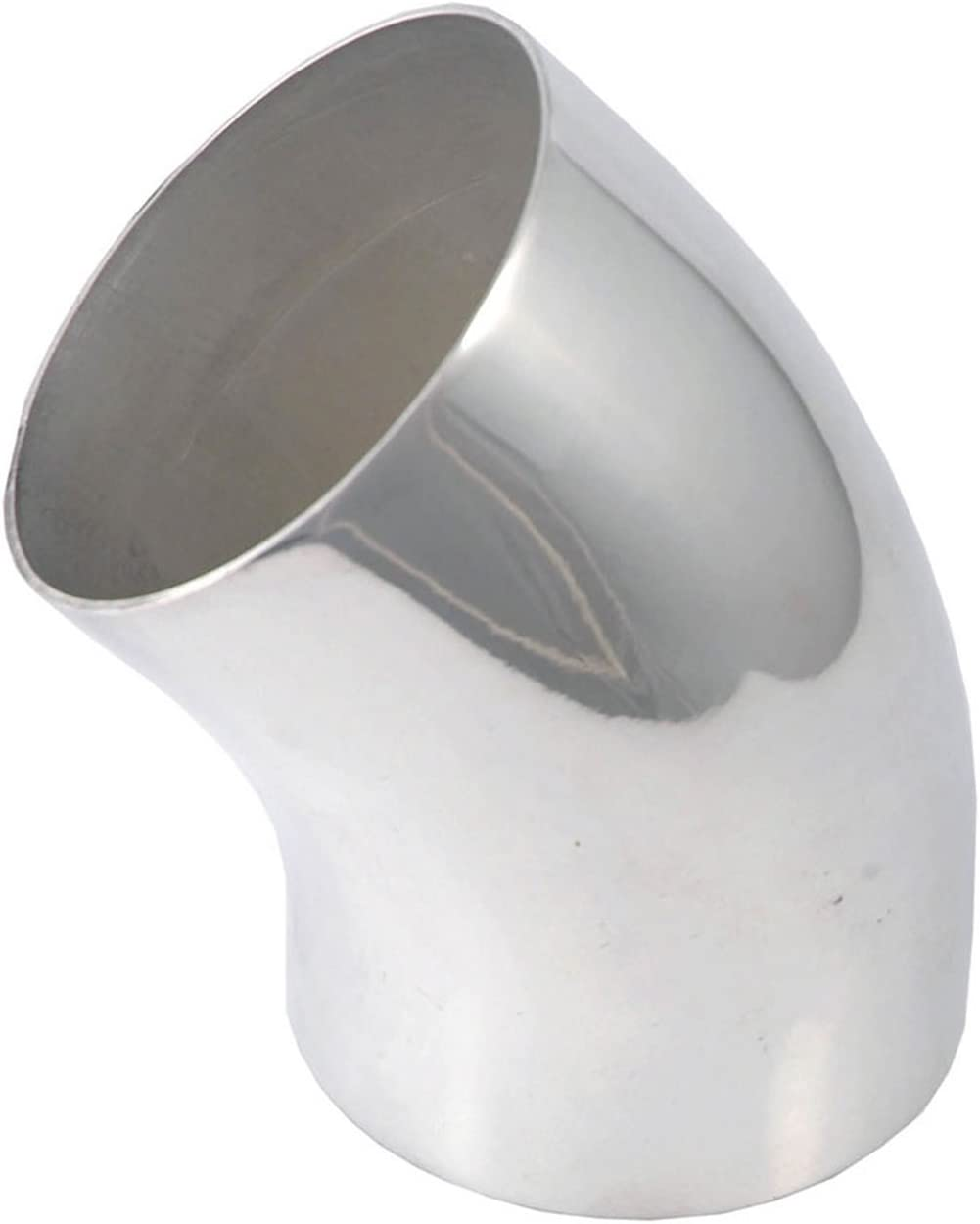 """22 Degree Elbow Polished Aluminum 9529 Pipe Air Intake Tube 3.5/"""" O.D"""