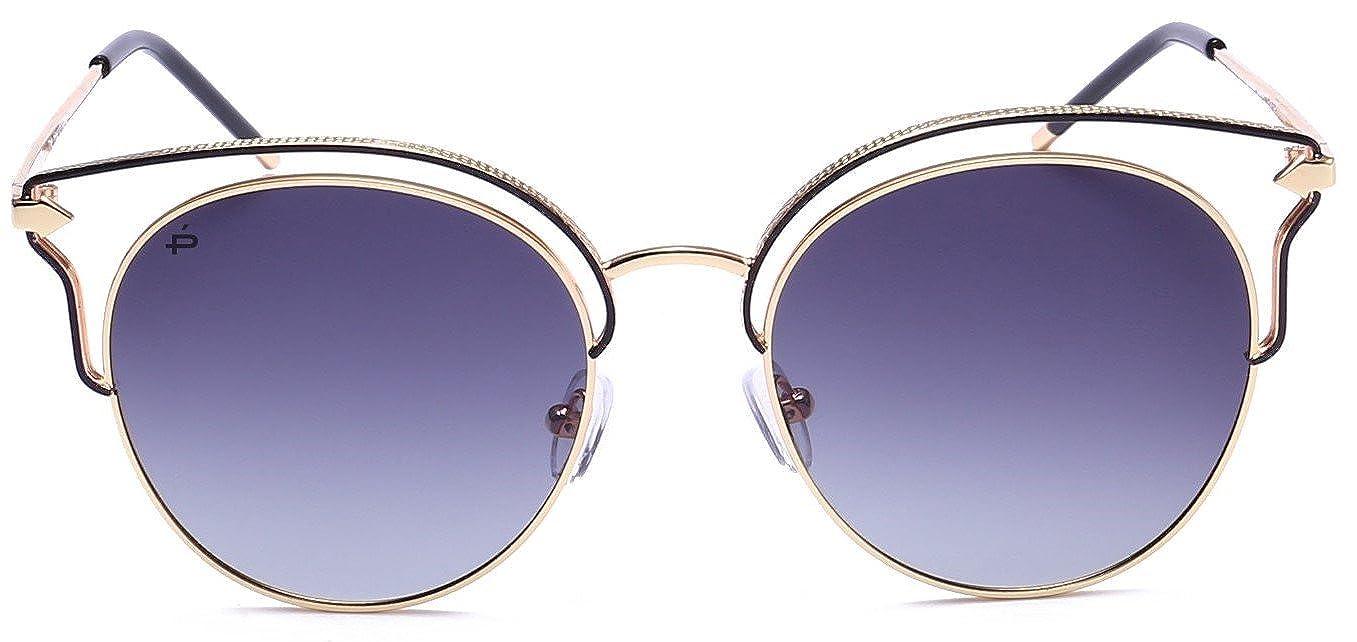 "017c9ce44e5 Amazon.com  PRIVÉ REVAUX ""The Heartbreaker"" Handcrafted Designer Cat-Eye  Polarized Sunglasses For Women  Clothing"