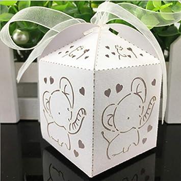 Amazon.com: YURASIKU - 50 cajas huecas de elefante cortadas ...