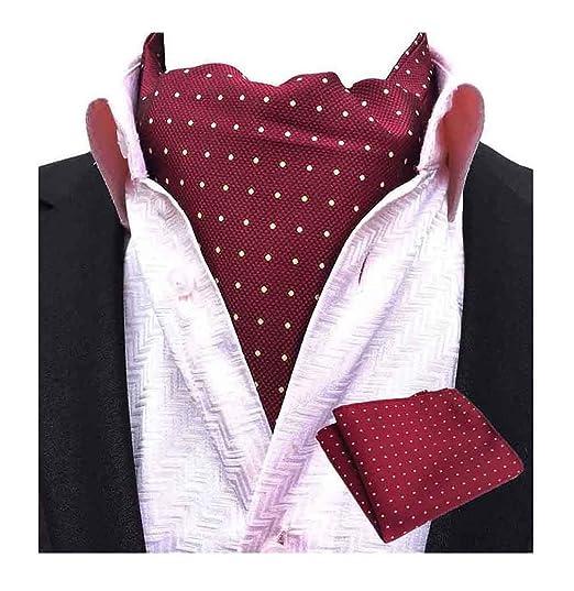 Amazoncom Mohslee Men Cravat Tie Ascot Self Neckwear Formal