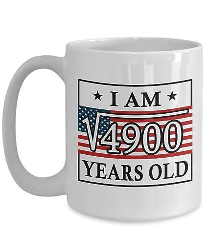 Happy 70th Birthday Mug For Men Funny 15 OZ