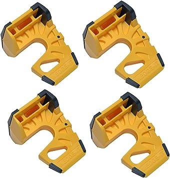 10-Pack Wedge-It Ultimate Door Stop Yellow