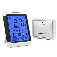 ThermoPro Thermomètre Hygromètre Numérique Intérieur