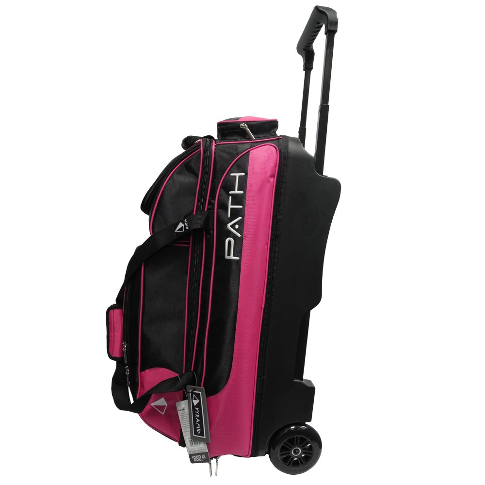 Pyramid Path Triple Deluxe Roller -Black/Hot Pink