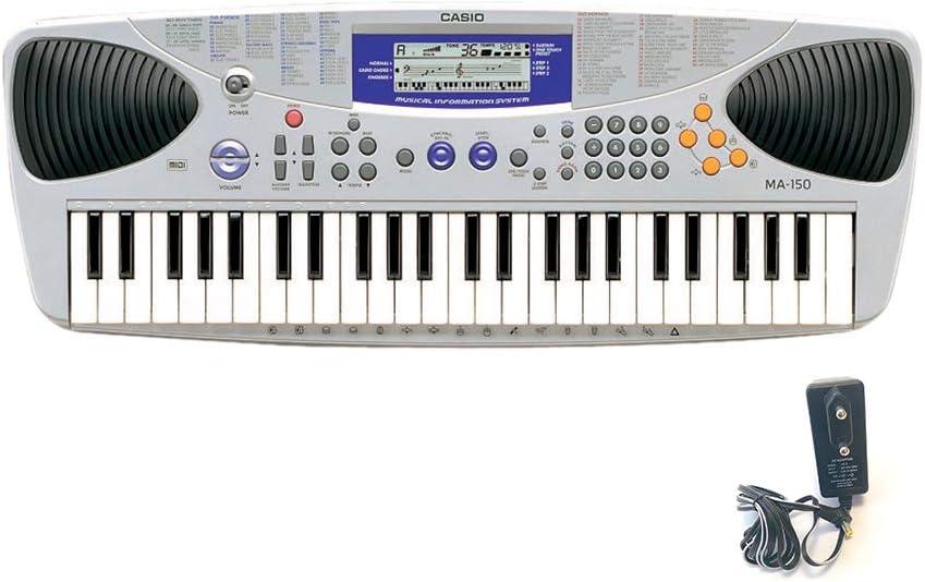 Casio MA-150 - Teclado MIDI (2.1 kg, 667 x 250 x 76 mm) Plata ...