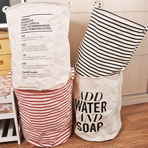 Generic C: plegable cesta para la ropa sucia Home organizador de ...