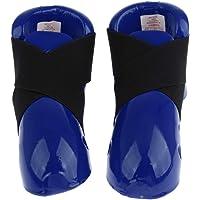 Perfeclan Professional Adult Kicks Sparring Shoes/Footgear Foot Guard for Karate Taekwondo Kickboxing Punch Bag for Unisex Womens Mens
