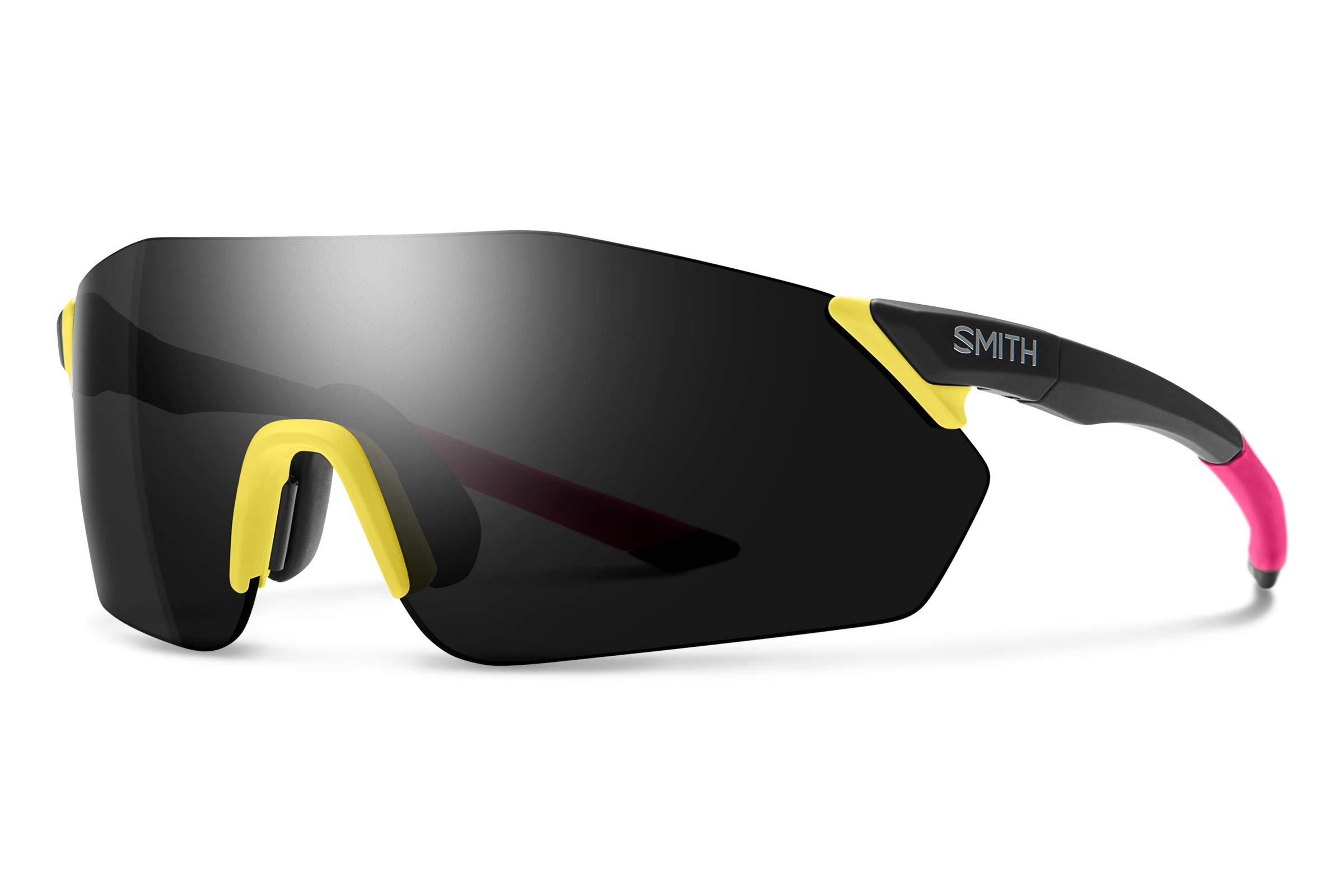Smith Reverb Chromapop Sunglasses, Matte Citron, Chromapop Sun Black/Contrast Rose