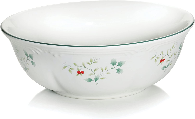Pfaltzgraff Winterberry 10-Inch Round Pasta Serve Bowl