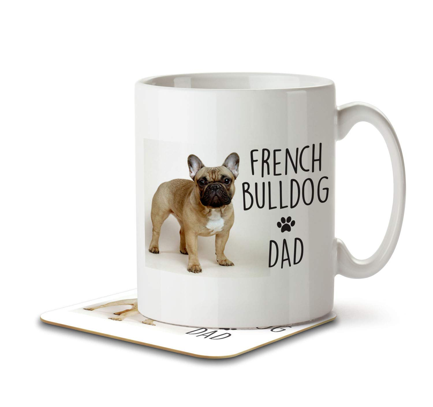Ideal Present//Gift I Am Not Just a Dog Person I/'m a Pug Daddy Keyring
