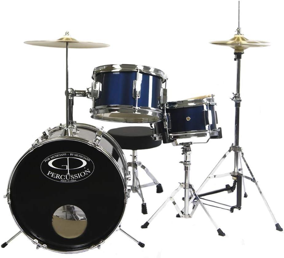 GP Percussion GP50MRB Complete Junior Drum Set