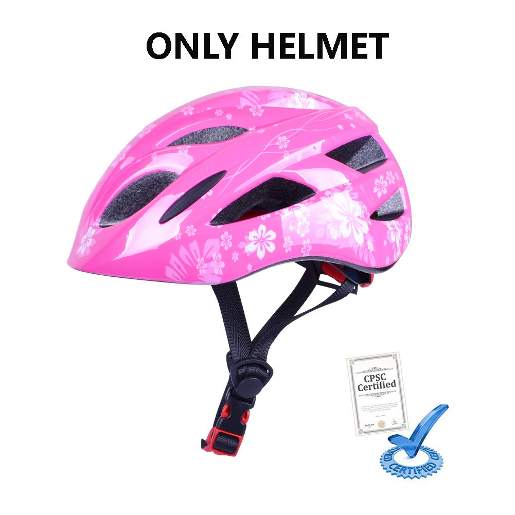 B'DAY SPORTS Kids Bike Helmet Toddler Boys Girls Helmet Sports Protective Guard Gear Set - CPSC Certified - for Cycling, Skating, Scooter, Rollerblading and Other Extreme Sports Activities by B'DAY SPORTS