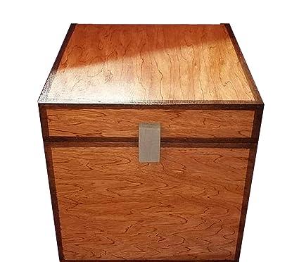 SKMD Accessories Minecraft Wood Trunk Storage Chest