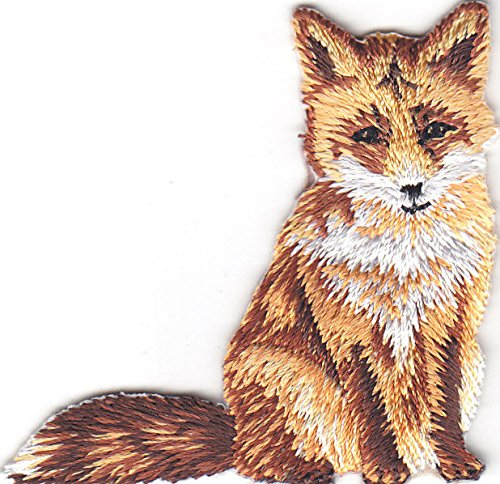 FOX FOREST ANIMAL EMBROIDERED ANIMALS product image