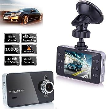 ag-fashion Dash Cam HD 1080P coche DVR grabador de conducción Cámara para coche con