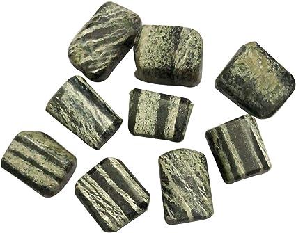 Crocon Piedra Natural Pulida de cocodrilo para Reiki ...