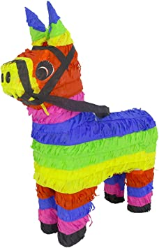 Amazon.com: Aurabeam Piñata clásica original de burro (color ...