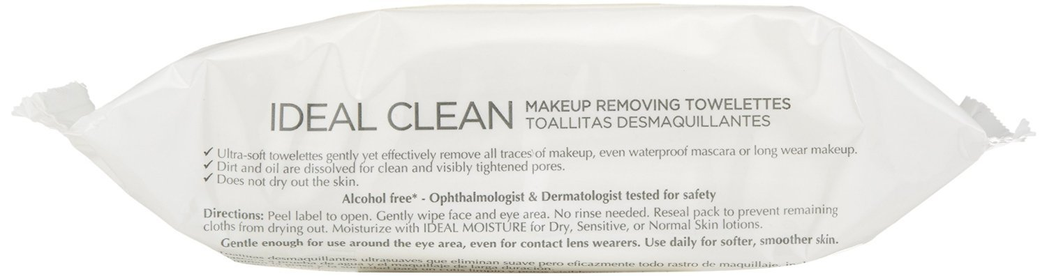 Amazon.com: LOreal Ideal Clean Towelettes, All Skin Types 25 ea (Pack of 2): Beauty