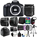 Canon EOS 1300D / T6 18MP Digital SLR Camera with 18-55mm Lens and Accessory Bundle