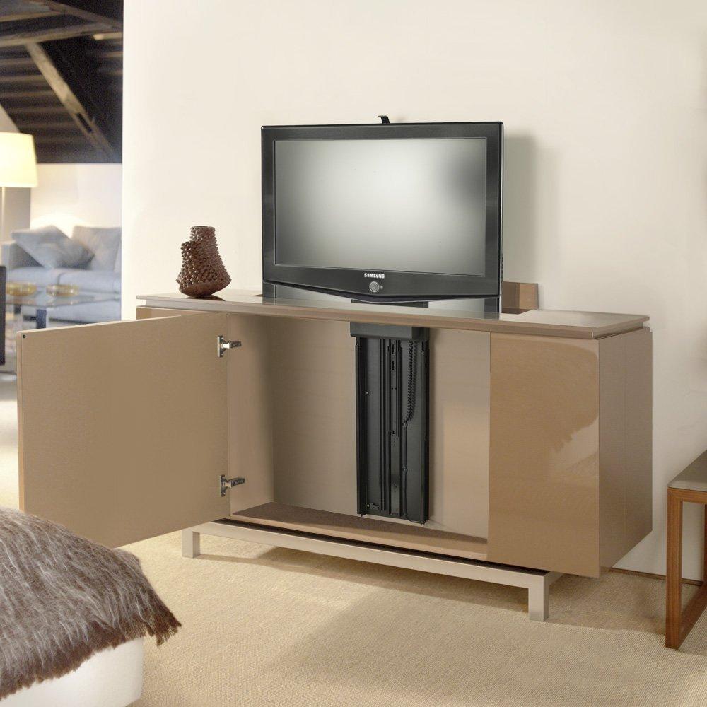 Tv Lift Fur Den Mobeleinbau Bis 75cm Hubhohe 100 Kg Tragkraft Ts750