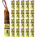 20 Pack Sticky Fly Strips Tape Ribbon , Fly Trap