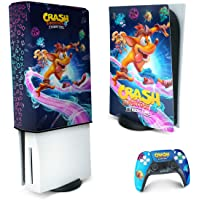 Capa Anti Poeira e Skin PS5 - Crash Bandicoot 4