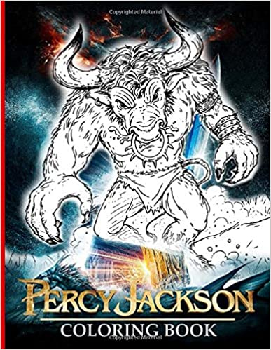 Percy Jackson Coloring Book: Adult Coloring Books For Women And Men (Workbook And Activity Books)