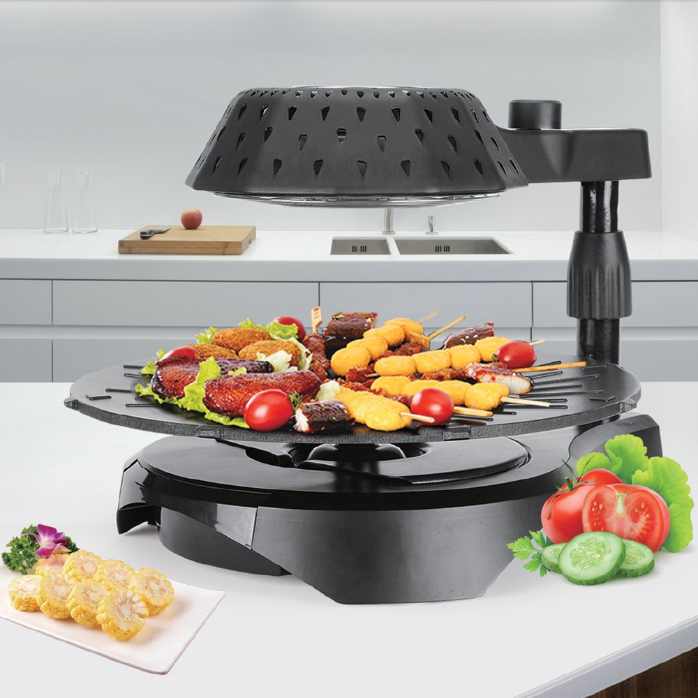 5. Cook@Home 3D Electric Smokeless Bio Infrared BBQ Grill