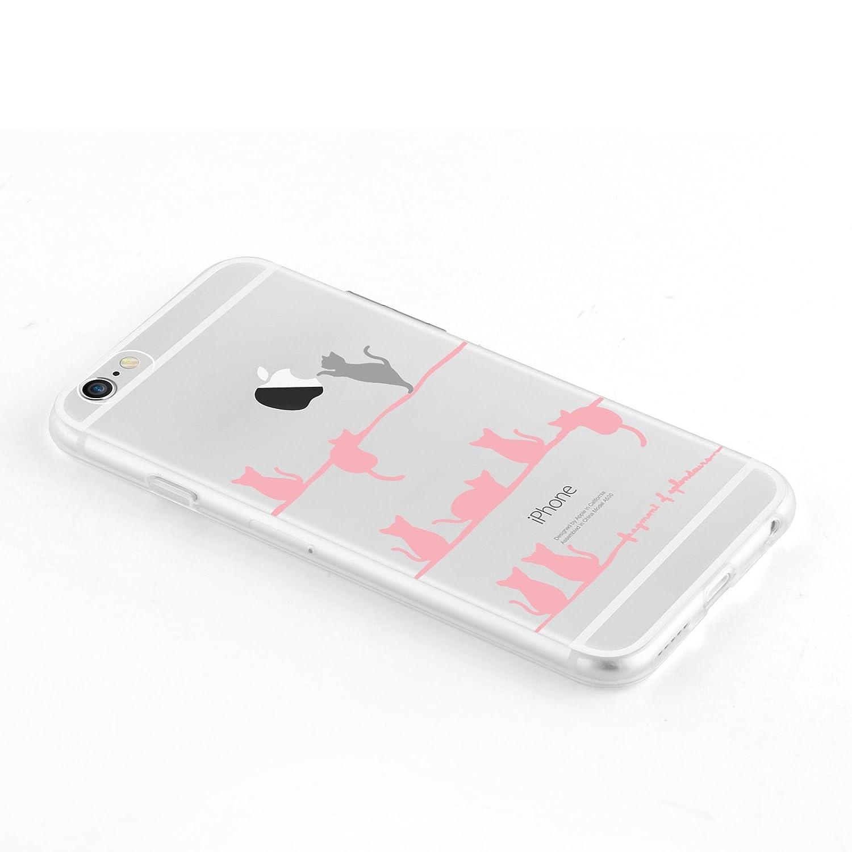 custodia iphone 6 in gomma trasparente