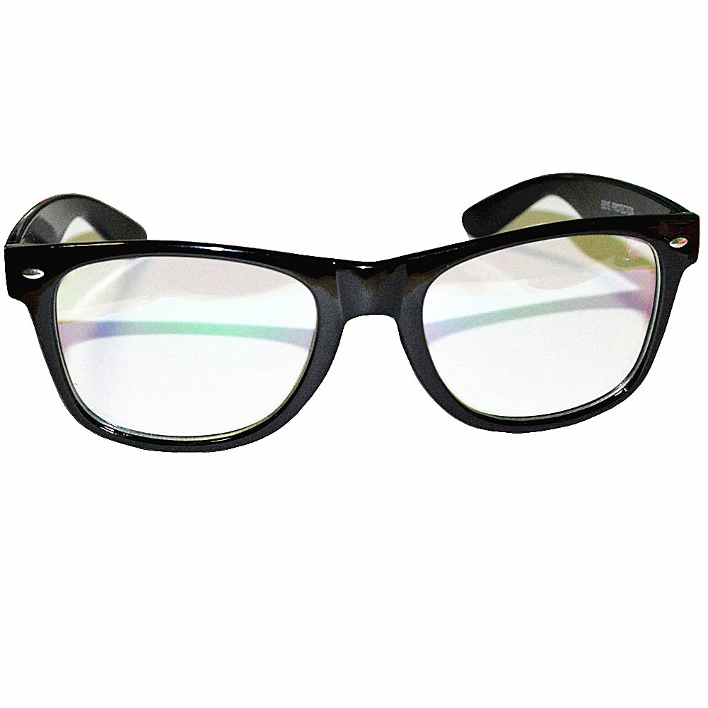 594a424c89 Amazon.com  Computer Glasses Anti Glare Anti Reflective Coating Black  Frame  Health   Personal Care