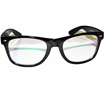 computer glasses anti glare anti reflective coating black frame