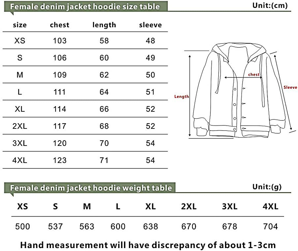 YUECHU Bjork Bedruckte Jeansjacke für Herren und Damen Hoodie Einreihiges Sweatshirt B4