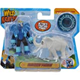 Wild Kratts Toys - 2 Pack Creature Power Action Figure Set - Elephant Power