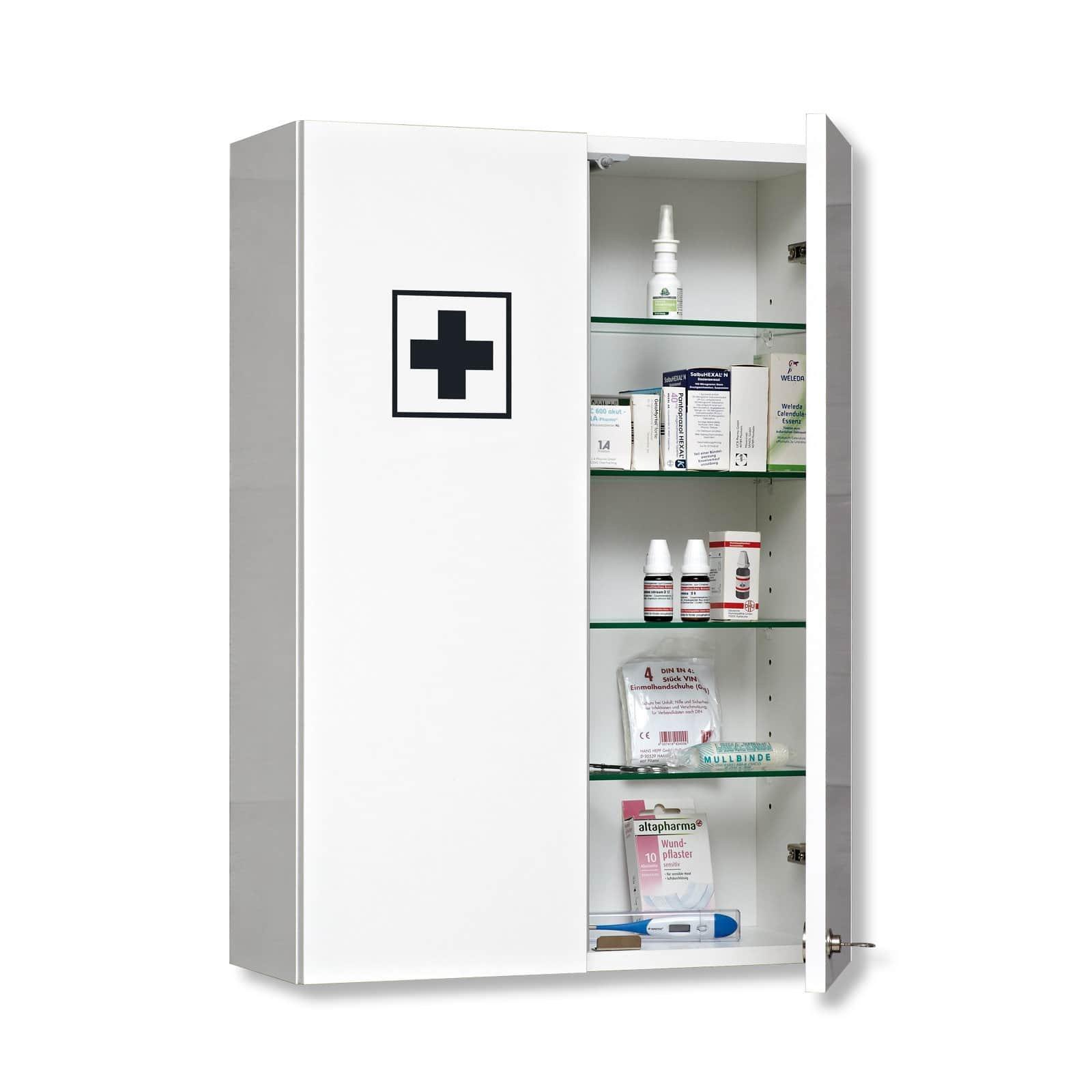 Druline Medizinschrank Hausapotheke Apothekerschrank Badregal Regal