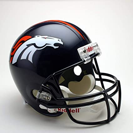 764a96463a47f Riddell Deluxe NFL Replica Football Helmet  Amazon.com.mx  Deportes ...